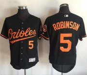 Wholesale Cheap Orioles #5 Brooks Robinson Black Flexbase Authentic Collection Stitched MLB Jersey