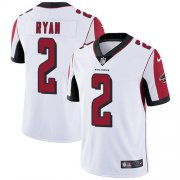 Wholesale Cheap Nike Falcons #2 Matt Ryan White Youth Stitched NFL Vapor Untouchable Limited Jersey