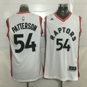 Wholesale Cheap Men's Toronto Raptors #54 Patrick Patterson White New NBA Rev 30 Swingman Jersey
