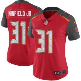 Wholesale Cheap Nike Buccaneers #31 Antoine Winfield Jr. Red Team Color Women\'s Stitched NFL Vapor Untouchable Limited Jersey