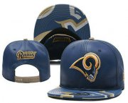 Wholesale Cheap Los Angeles Rams Snapback Ajustable Cap Hat YD