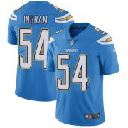 Wholesale Cheap Nike Chargers #54 Melvin Ingram Electric Blue Alternate Youth Stitched NFL Vapor Untouchable Limited Jersey
