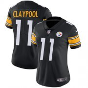 Wholesale Cheap Nike Steelers #11 Chase Claypool Black Team Color Women's Stitched NFL Vapor Untouchable Limited Jersey
