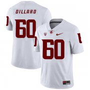 Wholesale Cheap Washington State Cougars 60 Andre Dillard White College Football Jersey