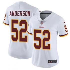 Wholesale Cheap Nike Redskins #52 Ryan Anderson White Women\'s Stitched NFL Vapor Untouchable Limited Jersey