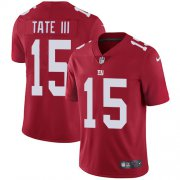 Wholesale Cheap Nike Giants #15 Golden Tate Red Alternate Men's Stitched NFL Vapor Untouchable Limited Jersey