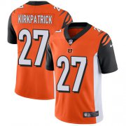 Wholesale Cheap Nike Bengals #27 Dre Kirkpatrick Orange Alternate Youth Stitched NFL Vapor Untouchable Limited Jersey