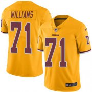 Wholesale Cheap Nike Redskins #71 Trent Williams Gold Youth Stitched NFL Limited Rush Jersey