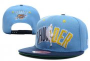 Wholesale Cheap NBA Oklahoma City Thunder Snapback Ajustable Cap Hat XDF 017