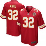 Wholesale Cheap Nike Chiefs #32 Spencer Ware Red Team Color Youth Stitched NFL Elite Jersey