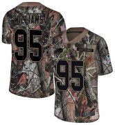 Wholesale Cheap Nike Bills #95 Kyle Williams Camo Youth Stitched NFL Limited Rush Realtree Jersey