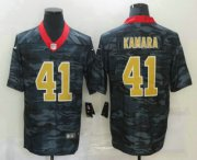 Wholesale Cheap Men's New Orleans Saints #41 Alvin Kamara 2020 Camo Limited Stitched Nike NFL Jersey