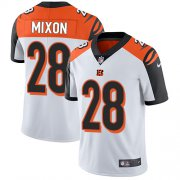 Wholesale Cheap Nike Bengals #28 Joe Mixon White Youth Stitched NFL Vapor Untouchable Limited Jersey