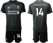 Wholesale Cheap Liverpool #14 Henderson Third Soccer Club Jersey