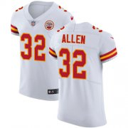 Wholesale Cheap Nike Chiefs #32 Marcus Allen White Men's Stitched NFL Vapor Untouchable Elite Jersey