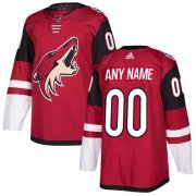 Wholesale Cheap Men's Adidas Coyotes Personalized Authentic Red Home NHL Jersey