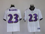 Wholesale Cheap Ravens #23 Willis McGahee White Stitched NFL Jersey