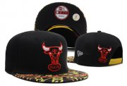 Wholesale Cheap NBA Chicago Bulls Snapback Ajustable Cap Hat DF 03-13_28