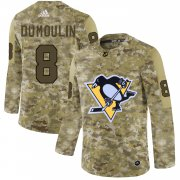 Wholesale Cheap Adidas Penguins #8 Brian Dumoulin Camo Authentic Stitched NHL Jersey