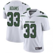 Wholesale Cheap Nike Jets #33 Jamal Adams White Youth Stitched NFL Vapor Untouchable Limited Jersey