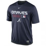 Wholesale Cheap Atlanta Braves Nike Legend Team Issue Performance T-Shirt Navy