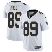 Wholesale Cheap Nike Saints #89 Josh Hill White Youth Stitched NFL Vapor Untouchable Limited Jersey