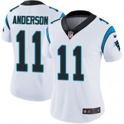 Wholesale Cheap Nike Panthers #11 Robby Anderson White Women's Stitched NFL Vapor Untouchable Limited Jersey