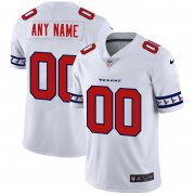Wholesale Cheap Houston Texans Custom Nike White Team Logo Vapor Limited NFL Jersey