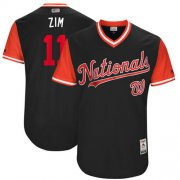 "Wholesale Cheap Nationals #11 Ryan Zimmerman Navy ""Zim"" Players Weekend Authentic Stitched MLB Jersey"