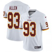 Wholesale Cheap Nike Redskins #93 Jonathan Allen White Youth Stitched NFL Vapor Untouchable Limited Jersey