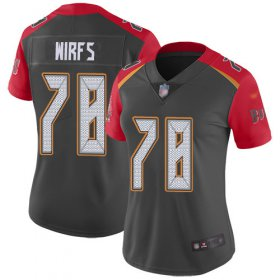 Wholesale Cheap Nike Buccaneers #78 Tristan Wirfs Gray Women\'s Stitched NFL Limited Inverted Legend Jersey