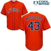 Wholesale Cheap Astros #43 Lance McCullers Orange Cool Base Stitched Youth MLB Jersey