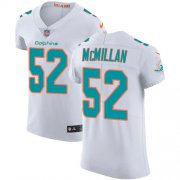 Wholesale Cheap Nike Dolphins #52 Raekwon McMillan White Men's Stitched NFL Vapor Untouchable Elite Jersey