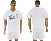 Wholesale Cheap Real Madrid Blank White Soccer Club T-Shirt_1