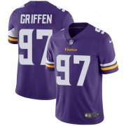 Wholesale Cheap Nike Vikings #97 Everson Griffen Purple Team Color Youth Stitched NFL Vapor Untouchable Limited Jersey