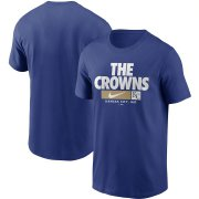 Wholesale Cheap Kansas City Royals Nike Local Nickname T-Shirt Royal