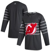 Wholesale Cheap Men's New Jersey Devils Adidas Gray 2020 NHL All-Star Game Authentic Jersey