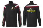 Wholesale Cheap NFL Washington Redskins Victory Jacket Black