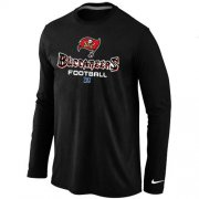 Wholesale Cheap Nike Tampa Bay Buccaneers Critical Victory Long Sleeve NFL T-Shirt Black