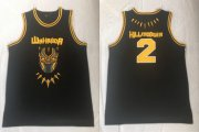 Wholesale Cheap Black Panther Wakanda 2 Erik Hillmonger Black Stitched Movie Basketball Jersey