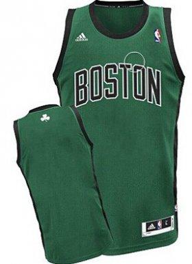 Wholesale Cheap Boston Celtics Blank Green With Black Swingman Jersey