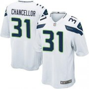 Wholesale Cheap Nike Seahawks #31 Kam Chancellor White Youth Stitched NFL Elite Jersey