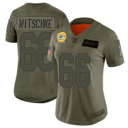 Wholesale Cheap Nike Packers #66 Ray Nitschke Camo Women's Stitched NFL Limited 2019 Salute to Service Jersey