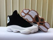 Wholesale Cheap Womens Air Jordan 13 Gum Soles Black/White-Gum