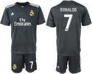 Wholesale Cheap Real Madrid #7 Ronaldo Away Soccer Club Jersey