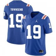 Wholesale Cheap Florida Gators 19 Johnny Townsend Blue Throwback College Football Jersey