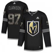 Wholesale Cheap Adidas Golden Knights #97 David Clarkson Black Authentic Classic Stitched NHL Jersey