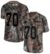 Wholesale Cheap Nike Panthers #70 Trai Turner Camo Men's Stitched NFL Limited Rush Realtree Jersey