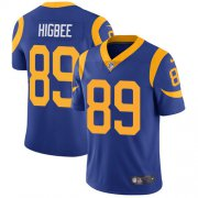 Wholesale Cheap Nike Rams #89 Tyler Higbee Royal Blue Alternate Youth Stitched NFL Vapor Untouchable Limited Jersey