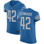 Wholesale Cheap Nike Lions #42 Devon Kennard Blue Team Color Men's Stitched NFL Vapor Untouchable Elite Jersey